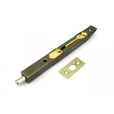 Шпингалет торцевой AGB 160 мм АВ бронза