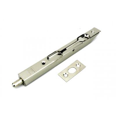 Шпингалет торцевой AGB 160 мм никель