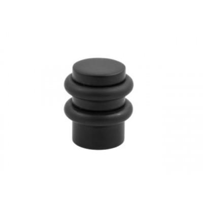 Упор (ограничитель хода) дверной напольный COLOMBO CD412-BL черный матовый