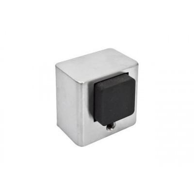 Упор (ограничитель хода) дверной напольный COLOMBO LC112-CM матовый хром